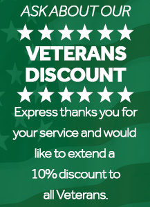 Express marijuana card Veterans Discount image